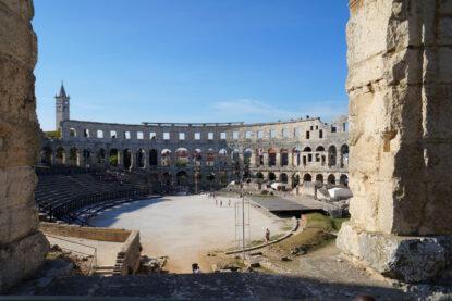 Rzymski amfiteatr w Puli