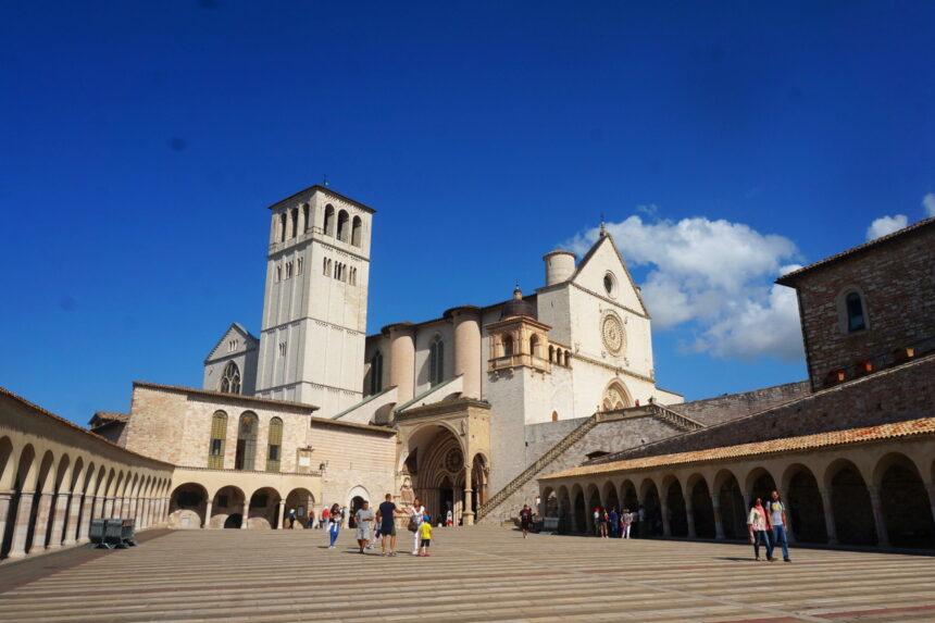 Asyż - Bazylika Świętego Franciszka