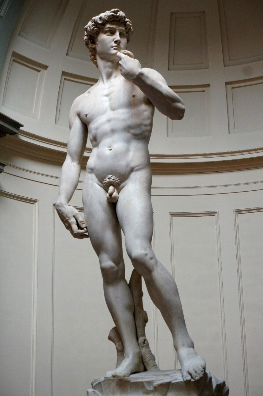 Dawid - Michał Anioł, Florencja