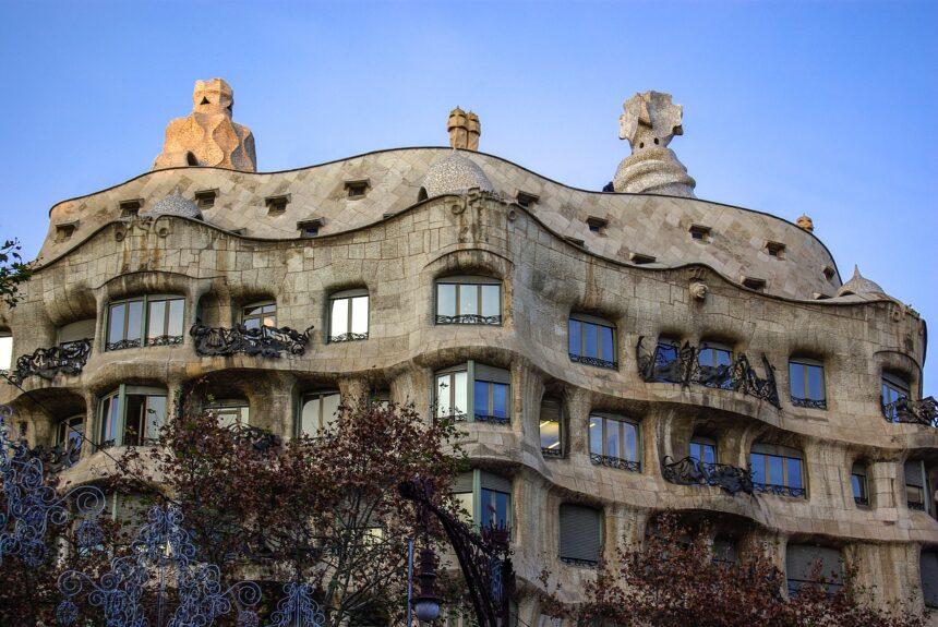Gaudi - Casa Mila, Barcelona