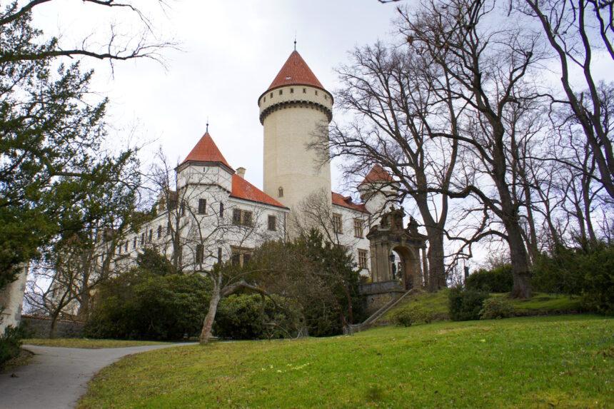 Zamek Konopiszte, Czechy