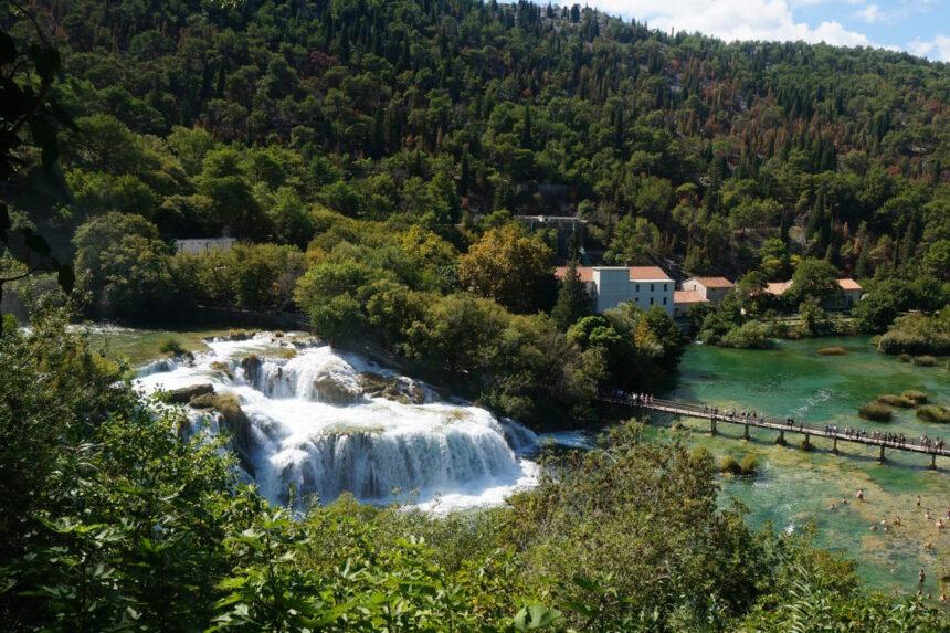 Wodospad Skradinski Buk - Chorwacja, Dalmacja