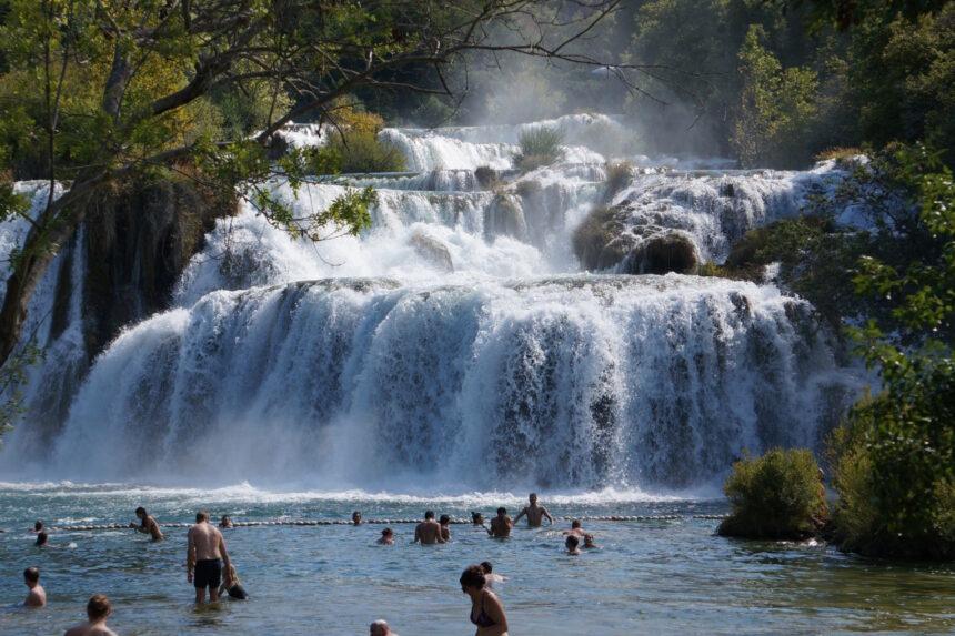 Wodospad Skradinski Buk, Chorwacja