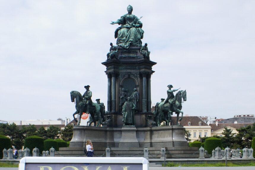 Wiedeń - pomnik Marii Teresy