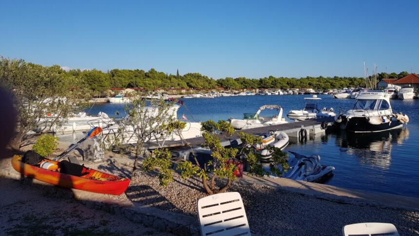 Zatoka na kempingu Solaris w Chorwacji