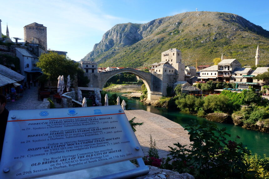Stary Most - Mostar, Bośnia i Hercegowina