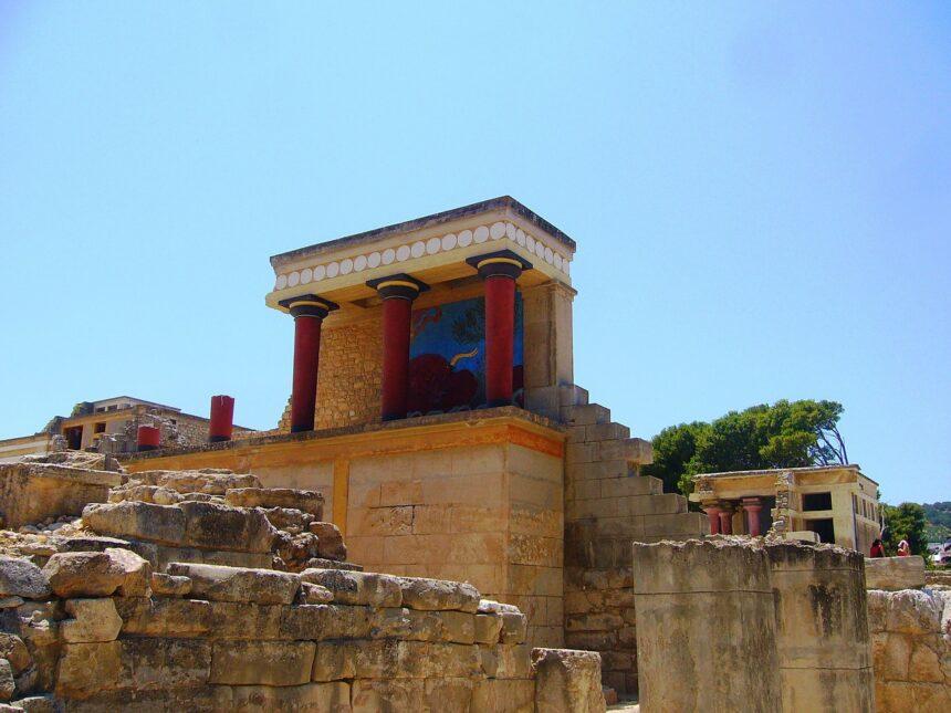 Knossos - Grecja, Kreta